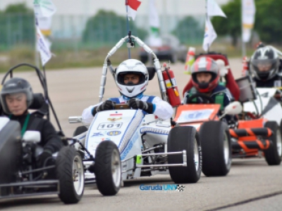 Garuda UNY Racing Team, Champion for Hybrid Car Category in the 2015 ISGCC