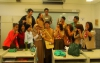 RAHMA FITRIANA TAUGHT STUDENTS AT SEKOLAH INDONESIA IN SINGAPORE